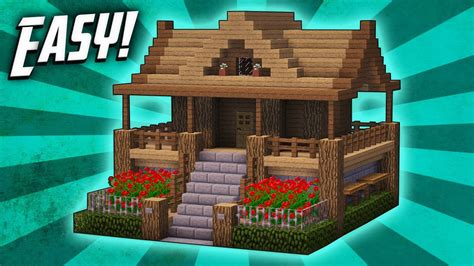how to start to build a house minecraft how to build a survival starter house tutorial