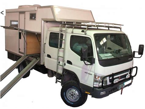 mitsubishi fuso 4x4 expedition vehicle mitsubishi canter double cabin 4x4 cer expeditionary