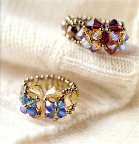 beaded rings free patterns tutorials 17 best ideas about beaded rings on pinterest seed bead