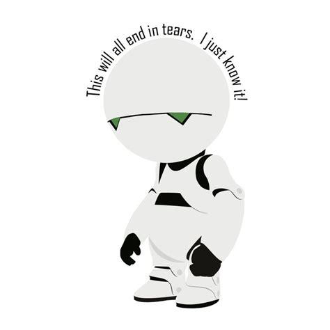 T Shirt Paranoid Android 51 best marvin the paranoid android 2005 images on