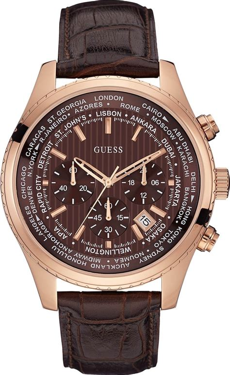 Swiss Army Chronograph 2186 Gold Brown guess u0500g3 s brown chronograph 46mm