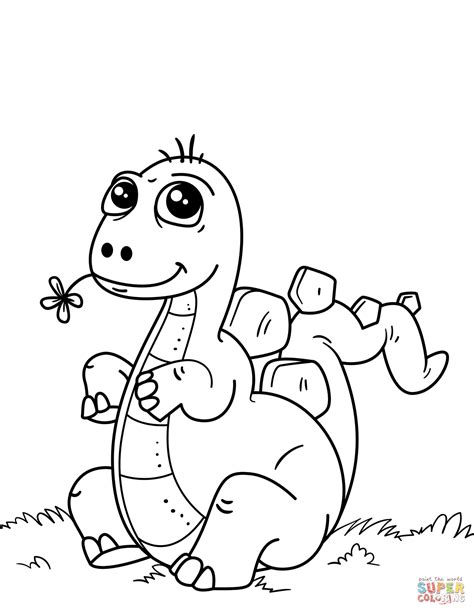 dinosaur color pages dinosaur coloring page free printable