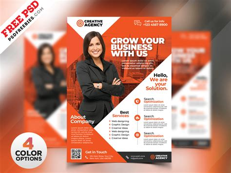 free business flyers design templates business flyer design templates psd psdfreebies