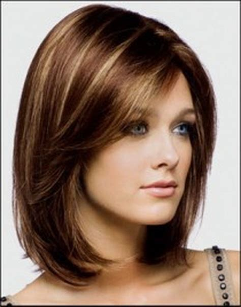 hairstyles brunette shoulder length medium length hairstyles brunette