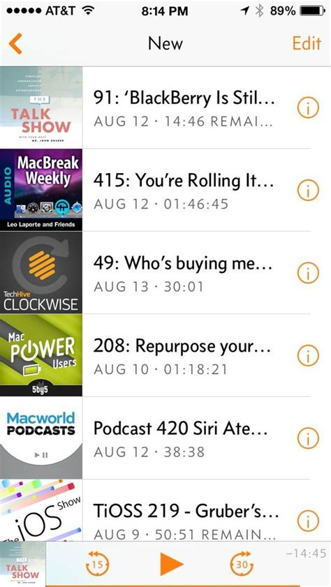Iphone J D by Review Overcast Iphone Podcast App Iphone J D