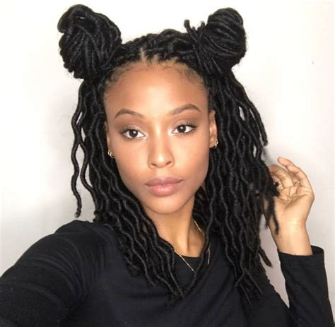 faux locs on short hair 35 short faux locs and protective goddess locs styles