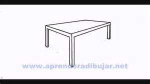 dessin d une table en perspective comment dessiner