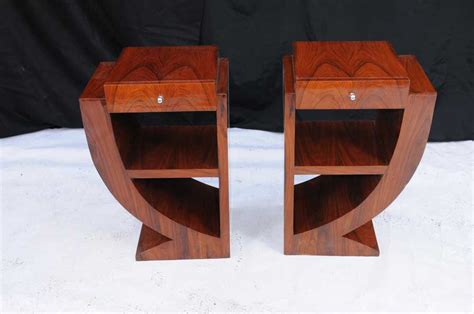 art bedroom furniture pair art deco bedside tables nightsands bedroom furniture
