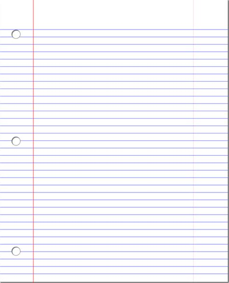 Lined Paper In Word - 14 lined paper templates excel pdf formats