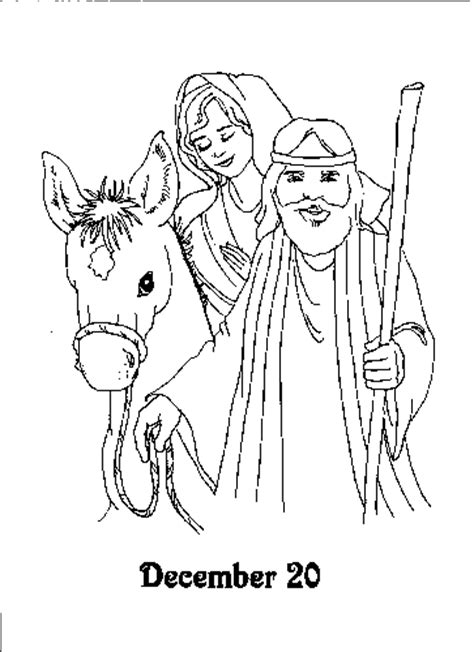Kids-n-fun.com | 25 coloring pages of Advent