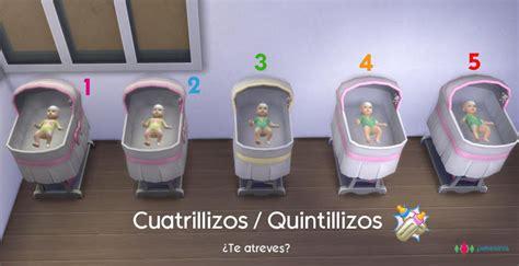 Baby Ls For Nursery by Pekesims Mod Cuatrillizos Quintillizos Y Sixtillizos