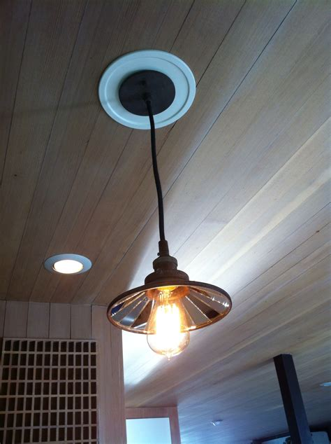 How To Convert A Recessed Light To A Pendant Light Convert Recessed Light To Pendant Homesfeed