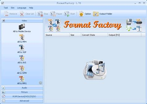 format factory quick sync 5 easy to use freeware video converters