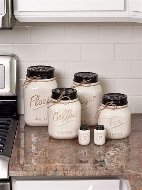 canisters kitchen decor 25 best ideas about canisters on jar
