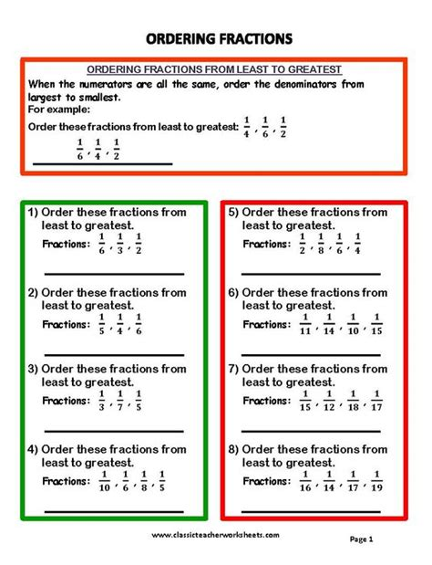 Check Math Homework Fractions by Check Out Our Collection Of Math Worksheets At