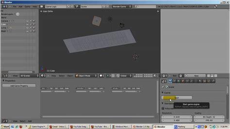 tutorial blender game engine español ira krakow s blender game engine bge 2 50 tutorial part 1
