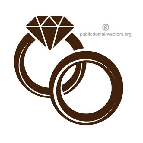 Wedding Ring Vector wedding rings vector at vectorportal
