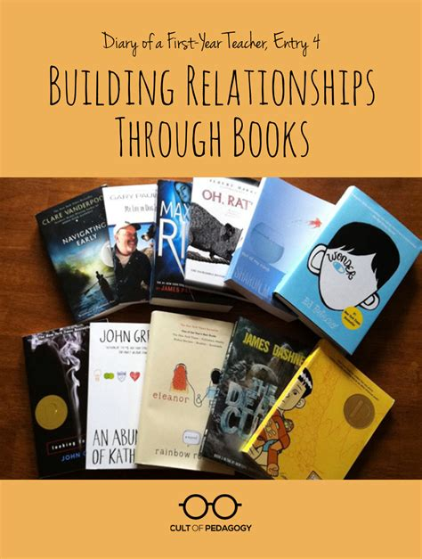relationships r us books building relationships with students through books cult