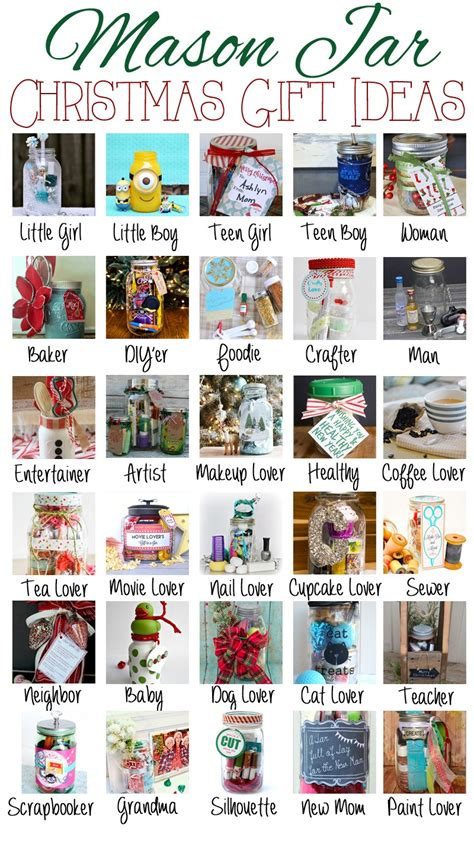 mason jar themed christmas gift ideas debbiedoos