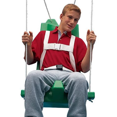 swings for special needs children flying colors 174 swing seat medium with pommel