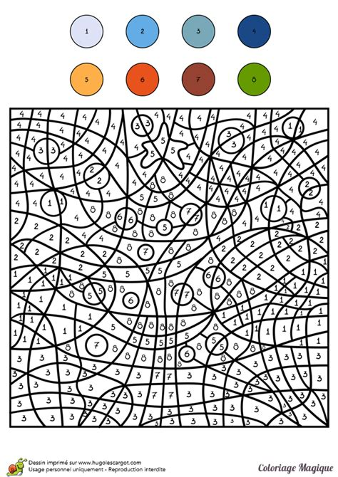 Coloriage Magique Niveau Cm2 D Un Sapin De No 235 L