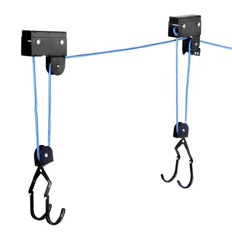 Pulley Systems For Kayaks In Garage oz mall kayak hoist bike lift pulley system garage ceiling storage rack capacity 60kg
