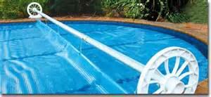 solar blanket rollers beautiful swim pool and spa