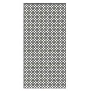home depot plastic lattice veranda 0 2 in x 48 in x 8 ft nantucket gray vinyl