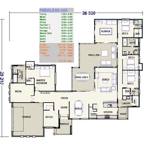 plan set low set home plans house design plans