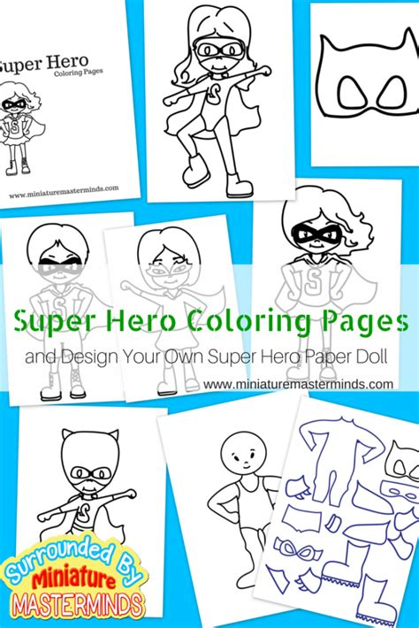 Make Your Own Color Paper - free printable coloring pages plus design your