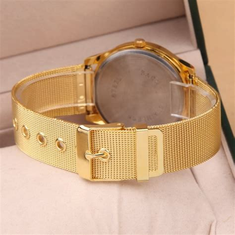 Jam Tangan Fashion Geneva S Stainless Steel Leather Qu geneva jam tangan analog yq001gd golden jakartanotebook