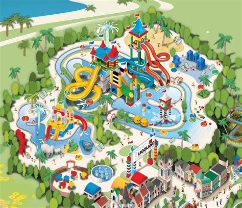 map of us water parks newsplusnotes april 2010