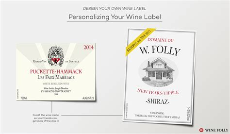 design great custom wine labels with these tips wine folly