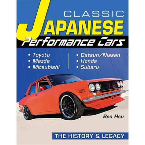 books about cars and how they work 2008 gmc savana 2500 interior lighting book report classic japanese performance cars the history legacy engine builder magazine