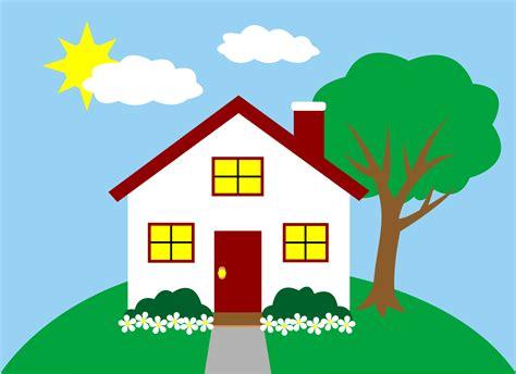 quaint  house   hill  clip art