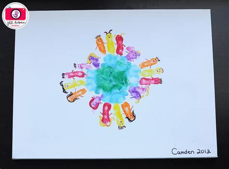 prints around the world family crafts - Around The World Crafts