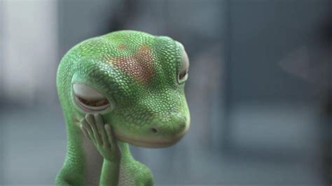 geico gecko jake wood geico tv commercial geico gecko cartoon commercial