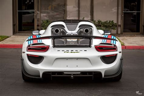 martini porsche 918 double martini treatment for this porsche 918 spyder