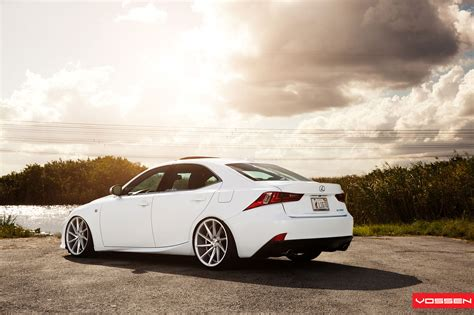lexus cvt photo gallery lexus is f sport on vossen cvt
