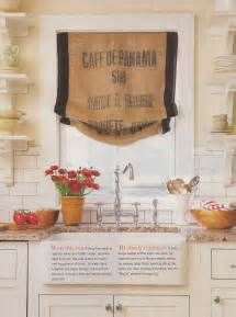 How To Make Burlap Valance Red Door Home Bag Of Tricks