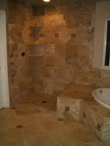 bathroom tile travertine master bathroom tile in