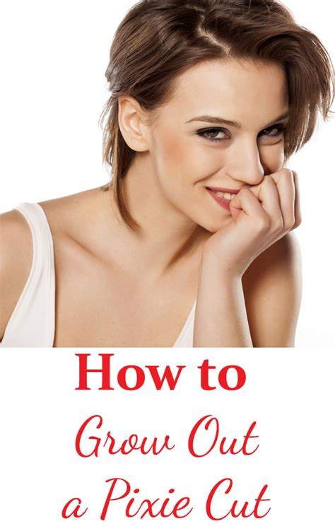 how to style your hair while a pixie grows out how to gracefully grow out a pixie cut
