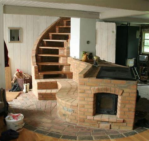 brick cookstove masonry heater and cookstove by