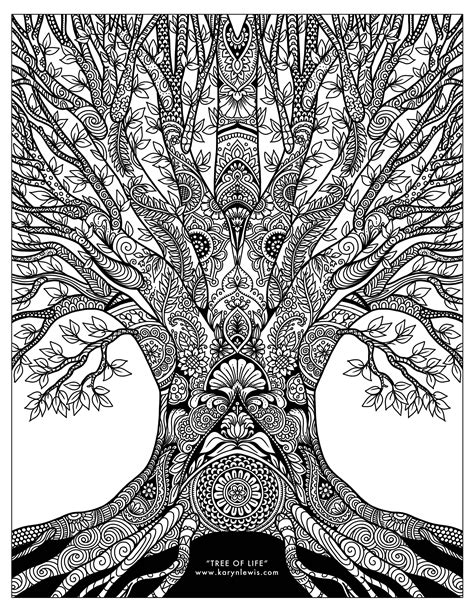 coloring pages of the tree of life tree of life coloring pages bltidm