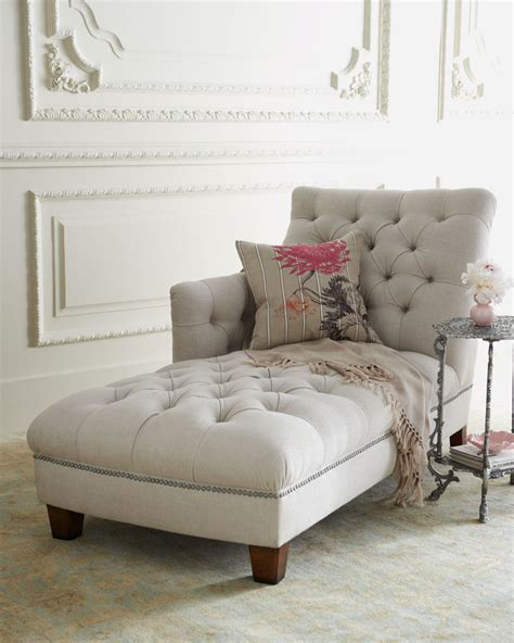 horchow chaise horchow quot maddox quot tufted chaise perfect for a reading