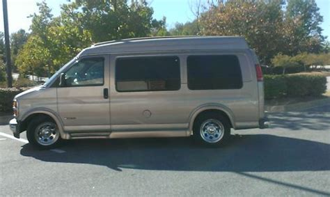 sell   chevy express  conversion van fully