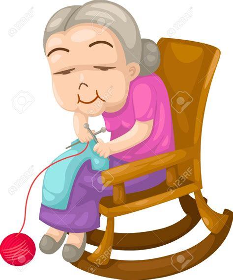 knitting clipart grandmother knitting clipart