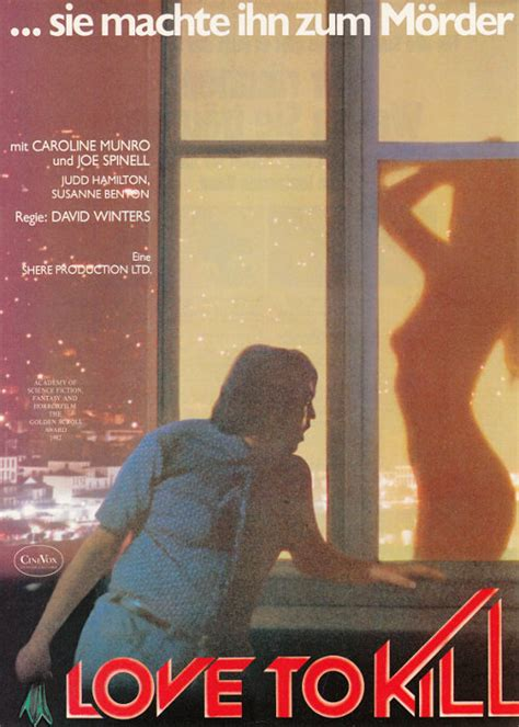 film love to kill filmplakat love to kill 1982 filmposter archiv