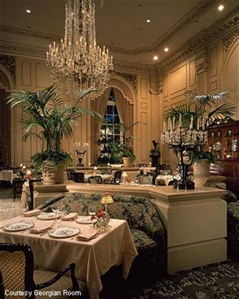 Georgian Room Seattle by Thanksgiving Dining Out Guide