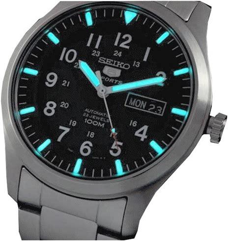 Jam Tangan Snk seiko 5 automatic jam tangan pria silver